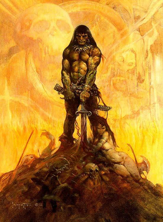 It' s only rock 'n roll and I like it - Page 3 Frank+Frazetta-Barbarian
