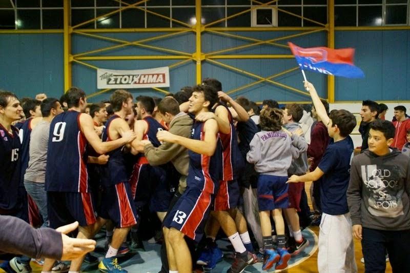 Αήττητος πρωταθλητής Ελλάδας στους εφήβους ο Πανιώνιος-Επικράτησε με 70-64 του Αρη
