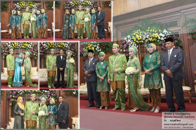 foto keluarga pengantin