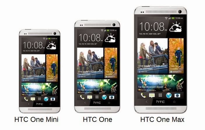 HTC One vs. Mini vs. Max
