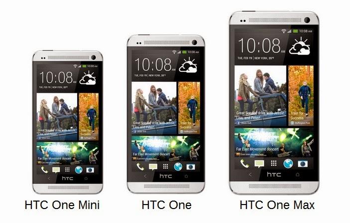 HTC One vs. Mini vs. Max