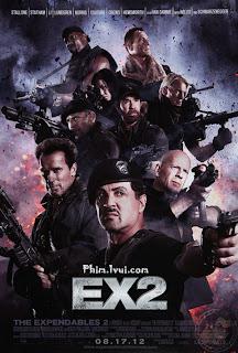 Phim Biệt Đội Đánh Thuê 2 - The Expendables 2 [Vietsub] Online