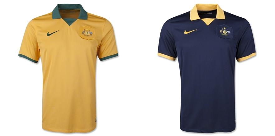 Australia - Jersey Grade Ori Piala Dunia 2014
