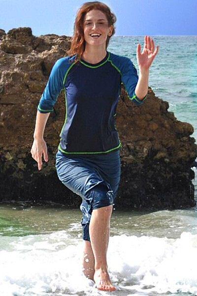 Sun protective swimwear UPF 50+ from Hydrochic