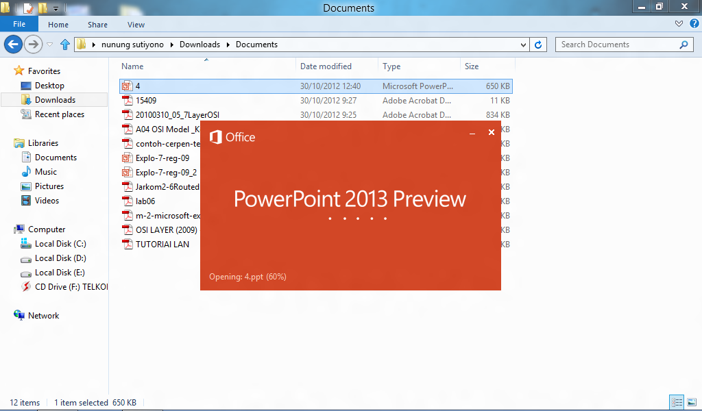 Microsoft Office 2013 Untuk Windows 8 Catatan Online Nunung