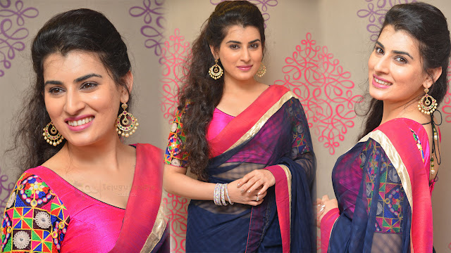 Archana Latest HD Stills At Srinivasa Textiles Launch