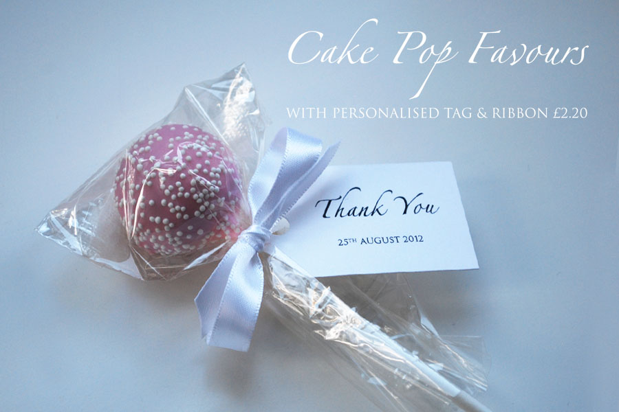 Cake pop favours now available online! | Welcome to the Twenty-Seven ...
