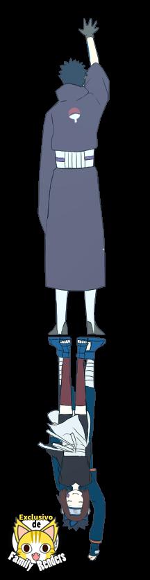 Render Obito y Rin + Naruto Shippuden