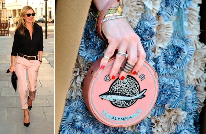 Inspiración rosa Kate Moss Olympia-le-Tan