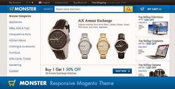 Premium Responsive Magento Theme