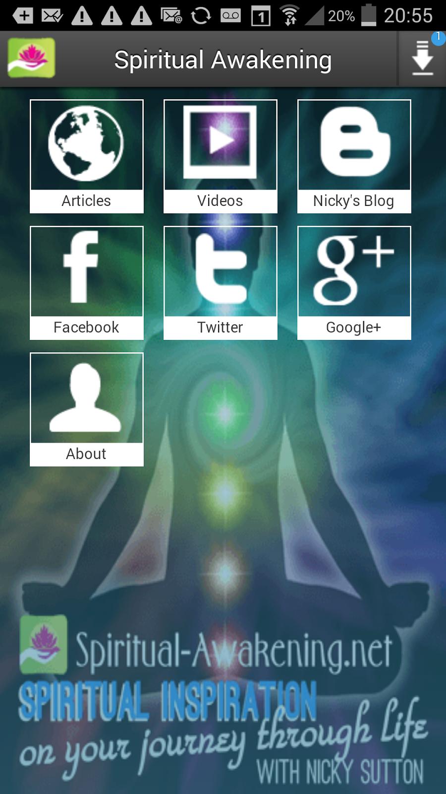 Free Android App for Spiritual Awakening