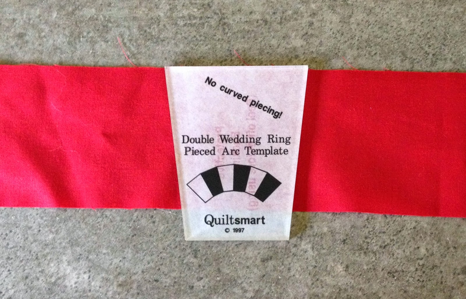 Interfacing Template Double Wedding Ring Free
