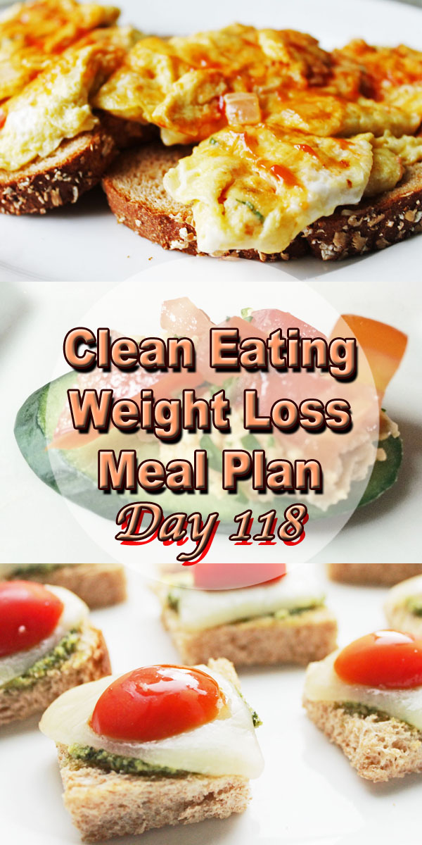 clean eating meal plan 118