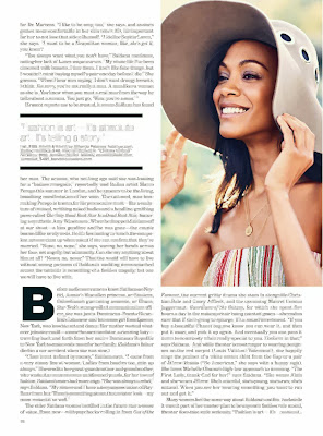 Zoe Saldana HQ Pictures from Lucky Magzine Photoshoot February 2014