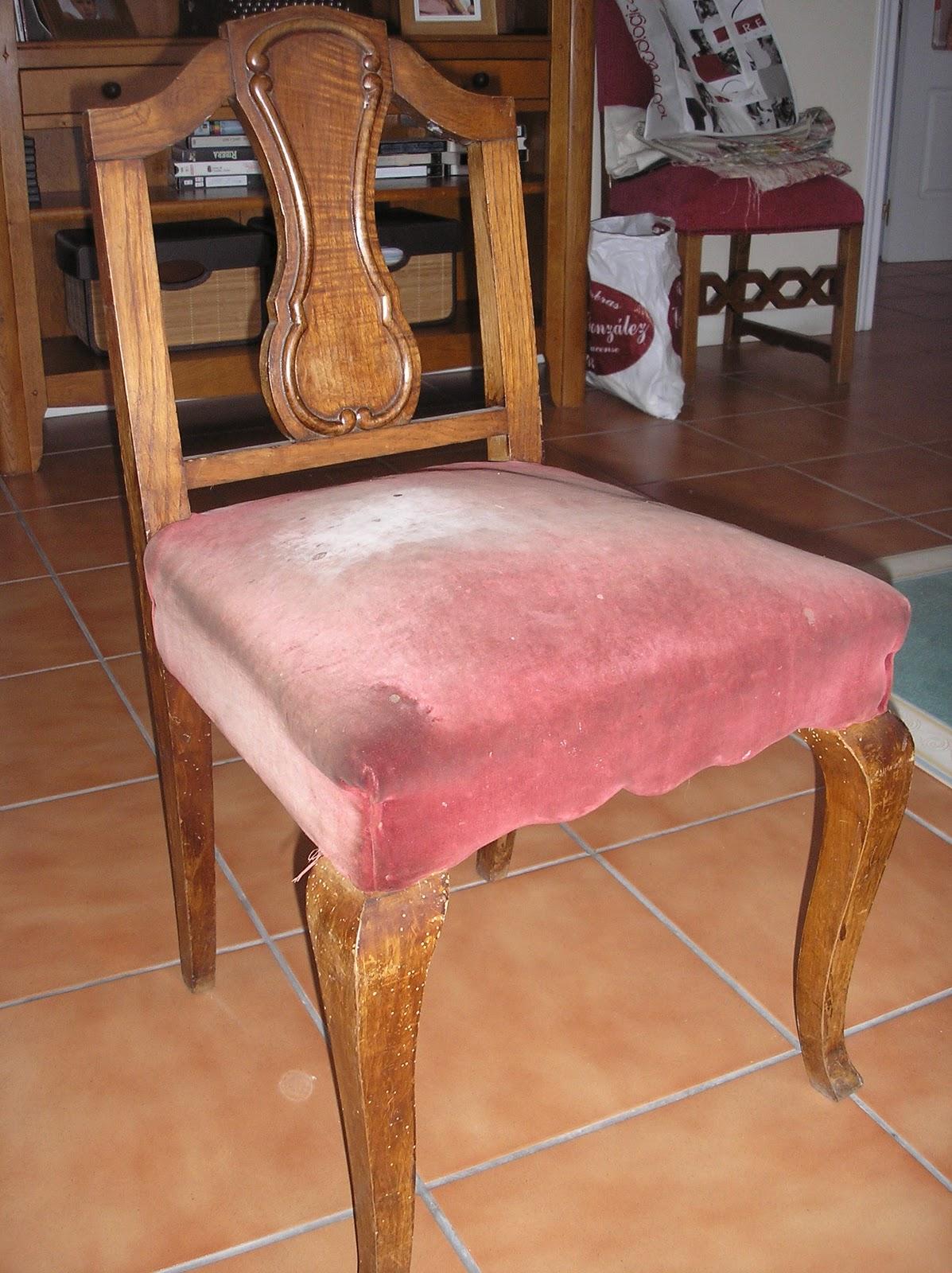 El desvan de mamen y m s descalzadoras de casta o for Sillas para viejitos