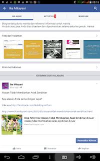 cara menggunakan fanpage untuk promosi blog
