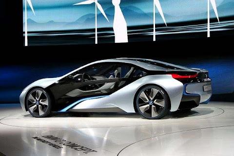 BMW i8, Konsep, Mobil, hibrida, Efisien Dinamis