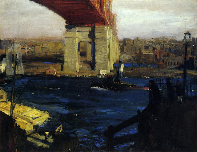 1909 The Bridge, Blackwell's Island