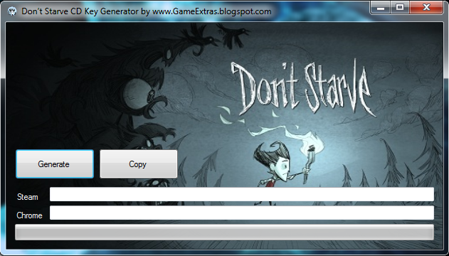 Don't Starve CD Key Generator