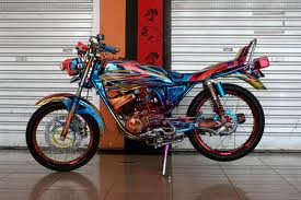 Gambar Modifikasi Motor RX King Yamaha