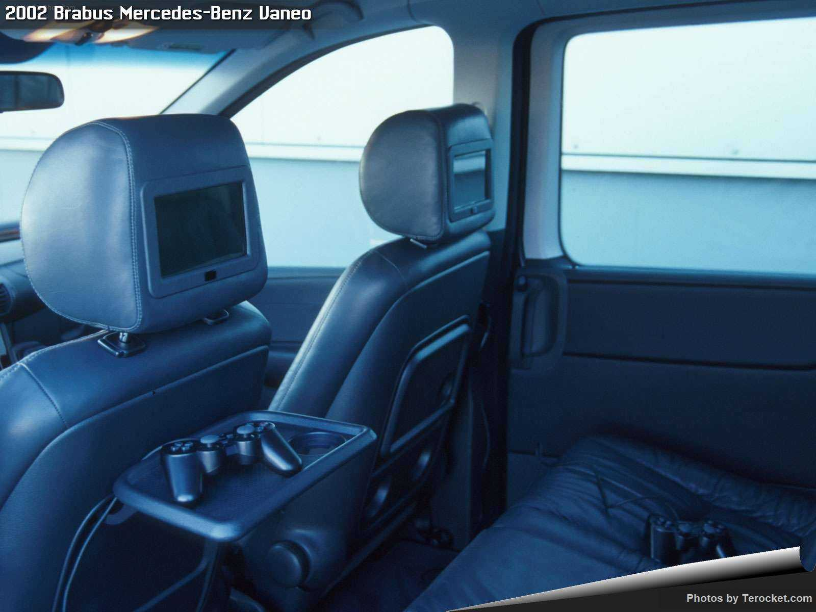 Hình ảnh xe ô tô Brabus Mercedes-Benz Vaneo 2002 & nội ngoại thất