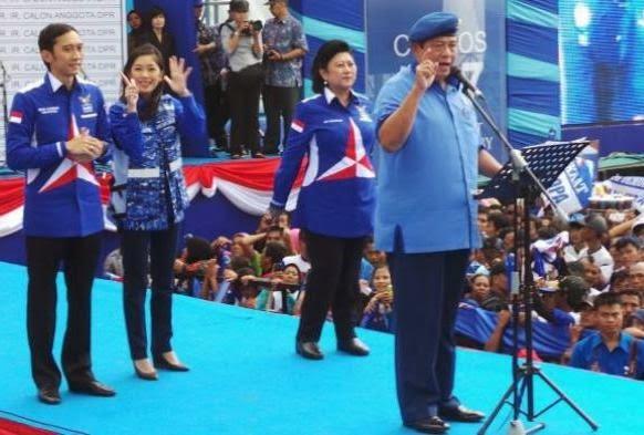 Presiden SBY Bantah Gunakan Fasilitas Negara saat Kampanye
