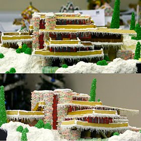 Fallingwater In gingerbread!