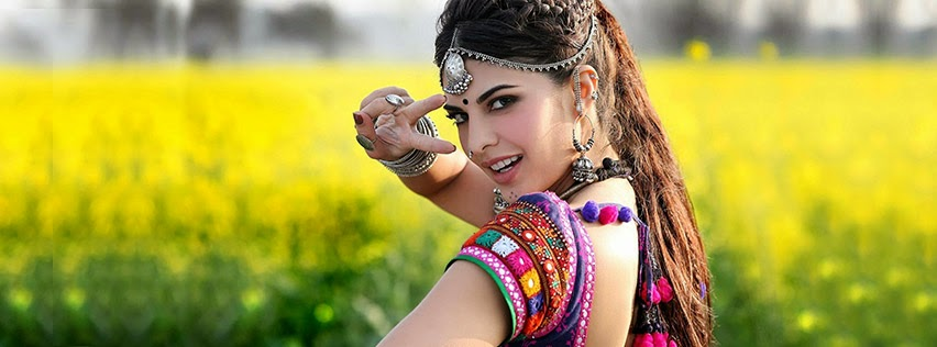Beautiful Facebook Cover Of Jacqueline Fernandez.
