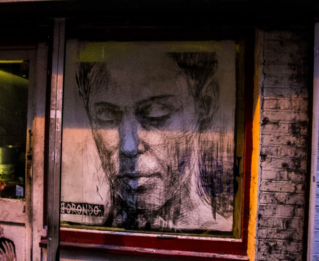 Street Art By Spanish Artist On The Streets Of East London, UK. 2