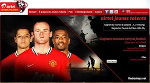Turnier organisiert von Airtel und Manchester United und wir sind wieder dabei!!