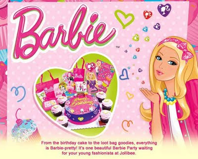 Jollibee Party Package - Barbie