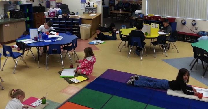 Kinder Tribe Alternative Seating In Kindergarten