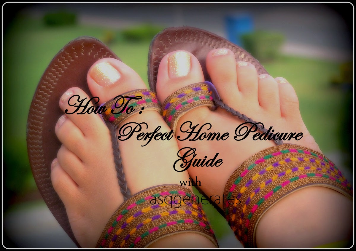 How to pedicure guide cover photo