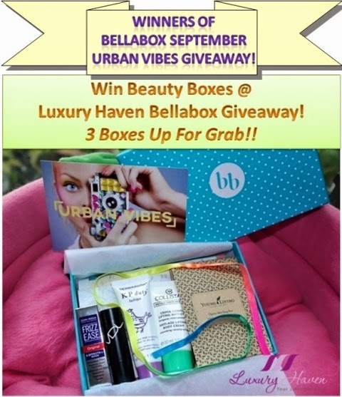 bellabox september urban vibes beauty boxes winners