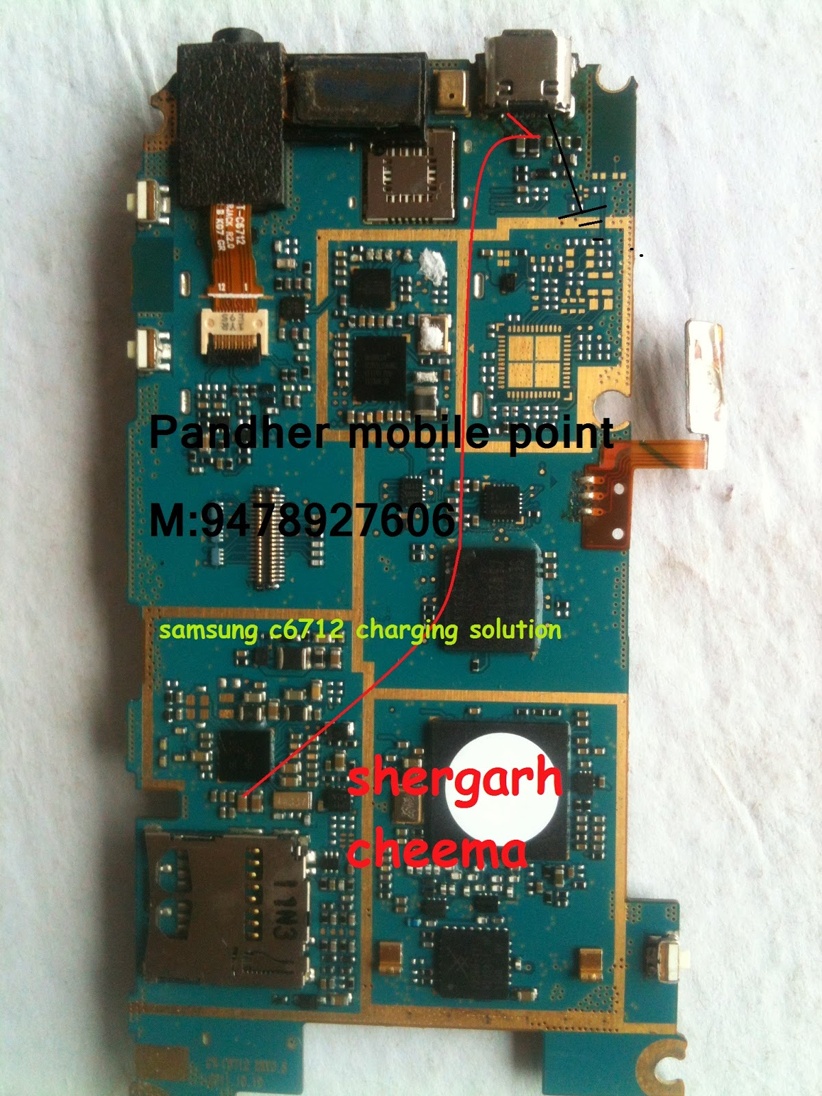 Samsung gt s7262 usb charging problem solution jumper ways - Samsung C6712 Charging Problem Solution