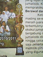 piala pertama lomba mading tax for student Kab. Pati