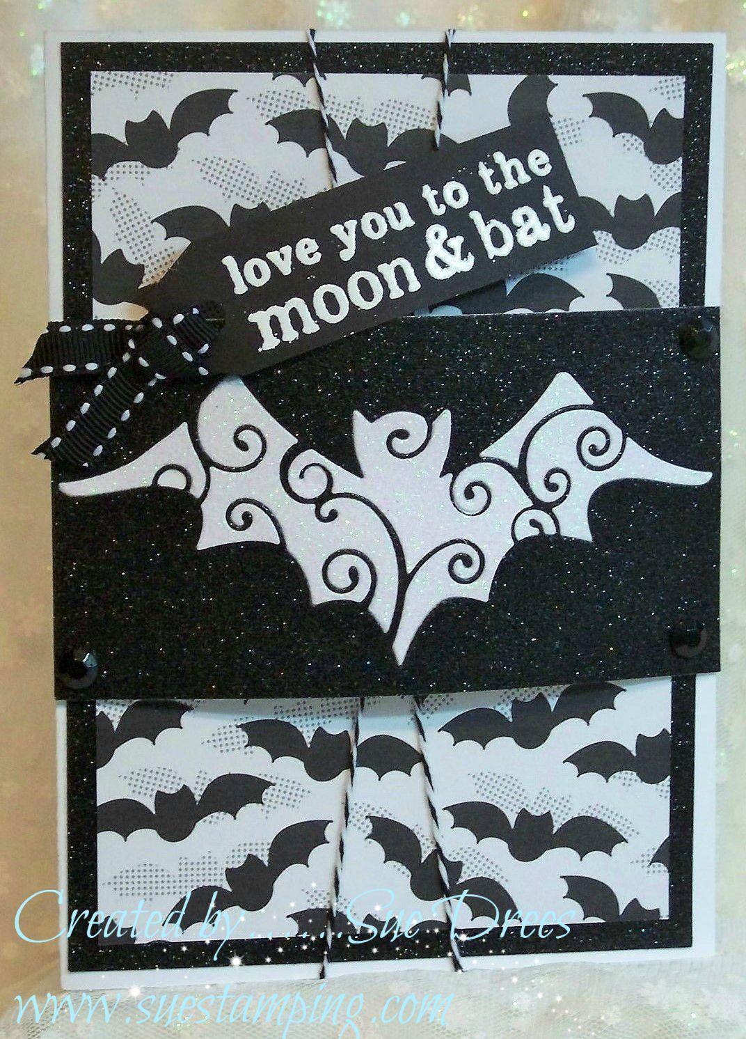 Buffalo Stamps & Stuff: BSS MONDAY IDEA -Bat Overlay on