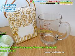 Souvenir Gelas Packaging Paperbox Eksklusif