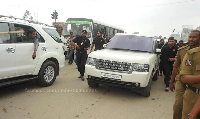 Mahesh Babu S Range Rover Vogue Celebrity Cars India