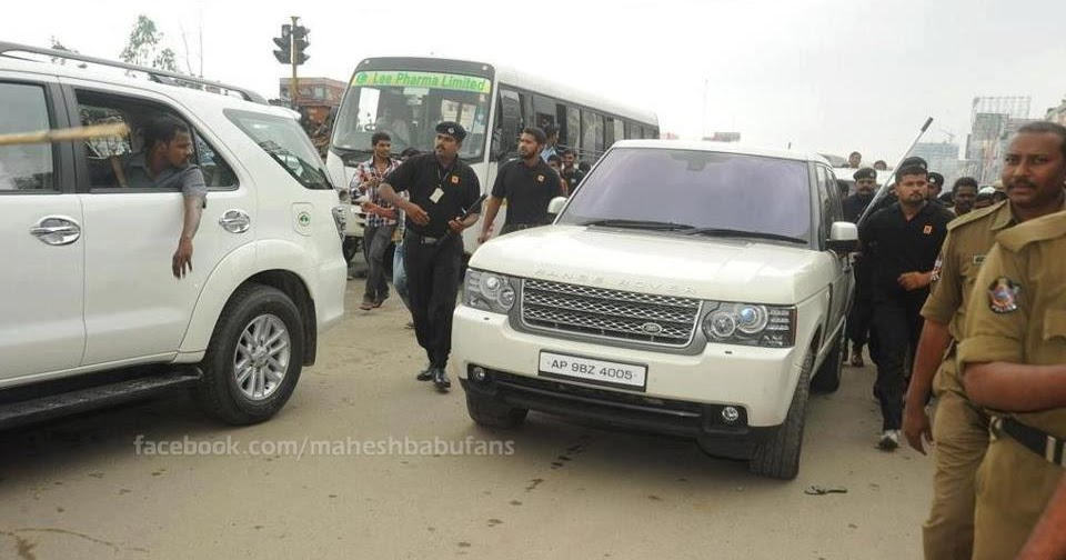 Mahesh Babu S Range Rover Vogue Celebrity Cars India