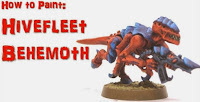 Termagante de la Flota Enjambre Behemoth