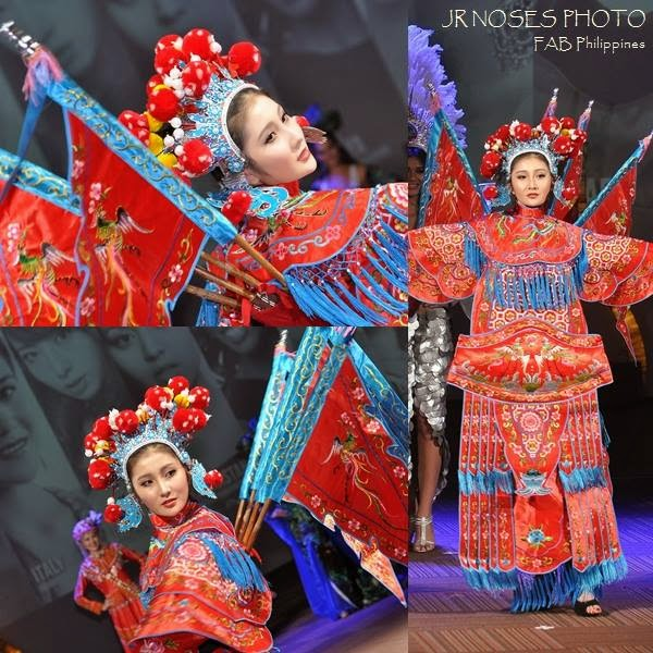 Miss Earth 2014 National Costume 01