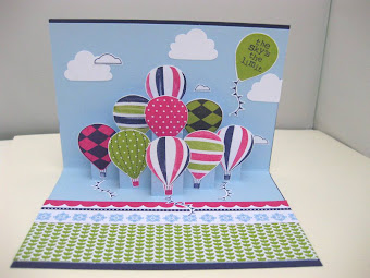 Stampin' Up! Pop Up Card Tutorial