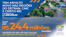 Laranjeiras do Sul -  24.4 Milhões Investidos
