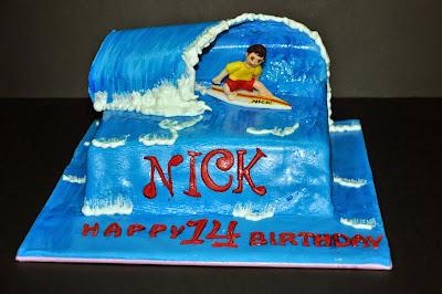 3D Surf Cake
