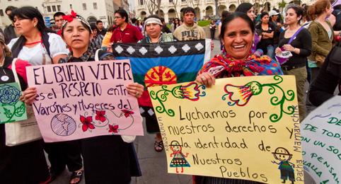 la participacion de la mujer en los procesos politicos: