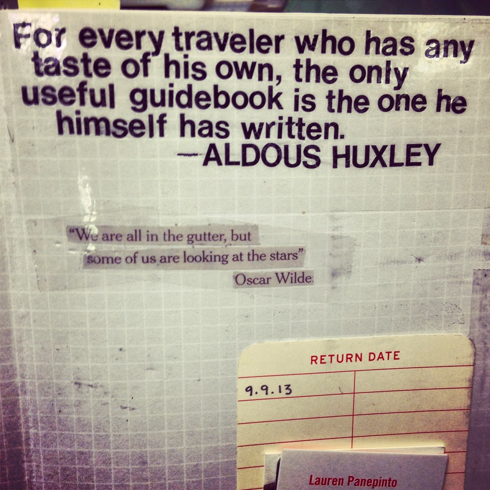 This Huxley Quote Always Goes