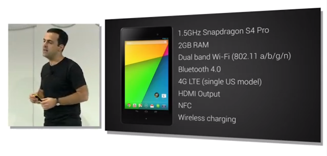 New Nexus 7 Specifications photo