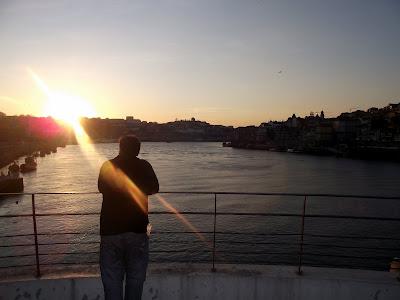 río Duero, mirador en Oporto