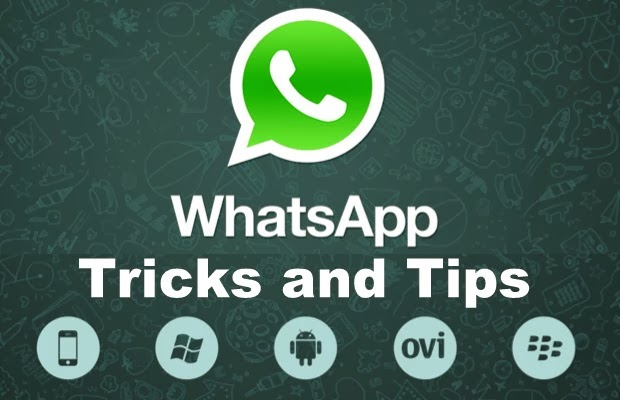 أفضل الخدع على Whatsapp لعام 2014